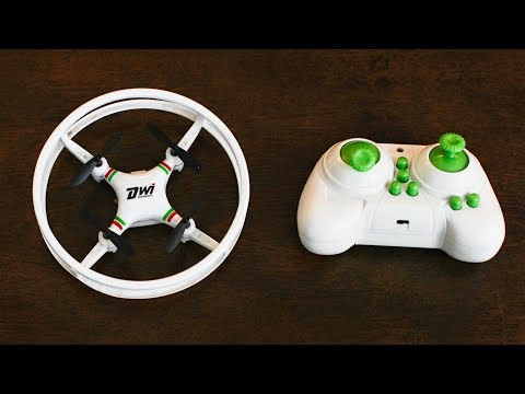 Circle Drone – It Rolls! It Flies! – Dwi Mini RC Quadcopter – TheRcSaylors