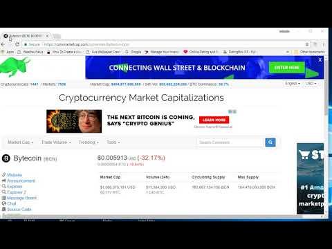 bytecoin 101