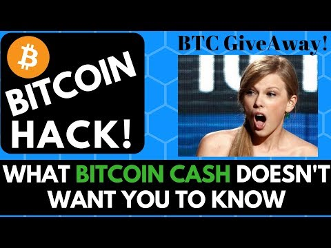 Bitcoin Hack! What Bitcoin Cash Doesn't Want You To Know…How to Get Lower Fees/Faster Transactions