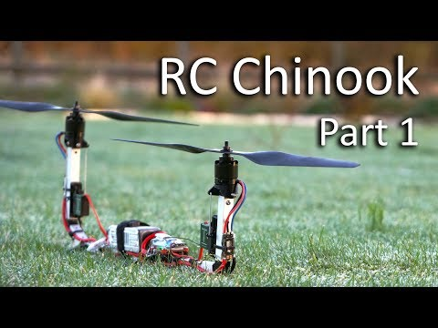 RC Chinook Bicopter – Part 1