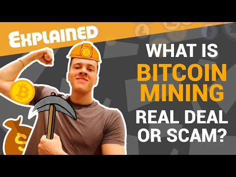 What is cryptocurrency Bitcoin MINING (explained for beginners) | How it works
