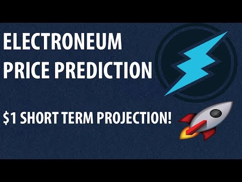 MY SHORT TERM ELECTRONEUM PRICE PREDICTION