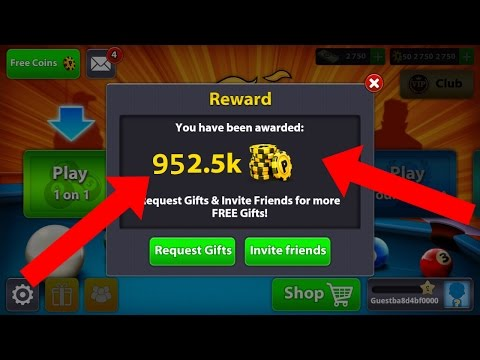 OMG! FREE COINS – 8 Ball Pool Get Unlimited Coin-Latest Trick- Without  Root And Hack 2017 [Hindi]
