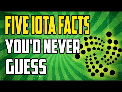 IOTA Coin Explained – SURPRISING facts about IOTA 2018 that will blow your mind