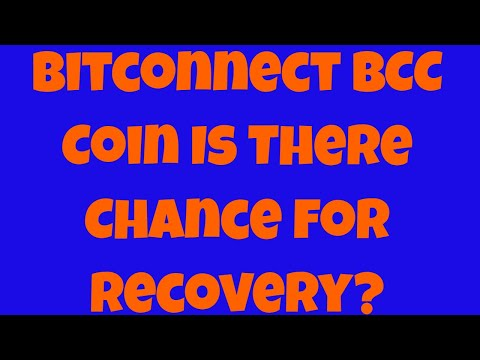 Bitconnect BCC Coin – Is there Chance For Recovery? 19 Jan 2018