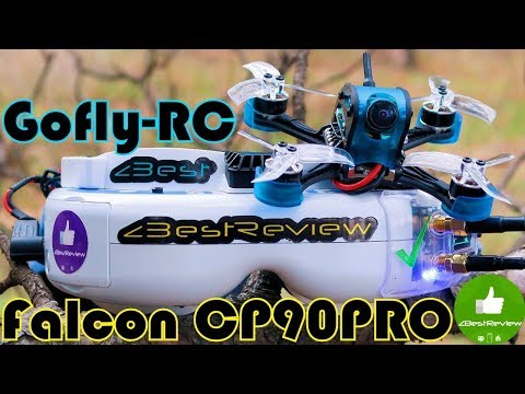 ✔ Быстрый и Мощный FPV Квадрокоптер – Gofly-RC Falcon CP90PRO! Banggood!