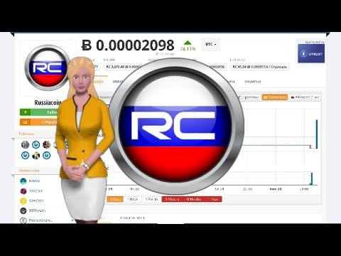 Russiacoin $RC Surges 74% Over the Last Day