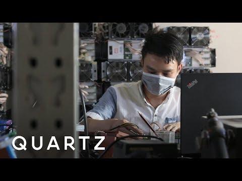 Inside a giant bitcoin mine