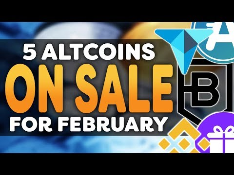 5 Cryptocurrency On Sale! – Best Altcoin Deals Moving Into February 2018