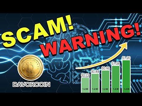 Is Davor Coin a Scam? – Davor Coin Next Bitconnect? – Avoid Davor Coin! – CryptoCurrency News