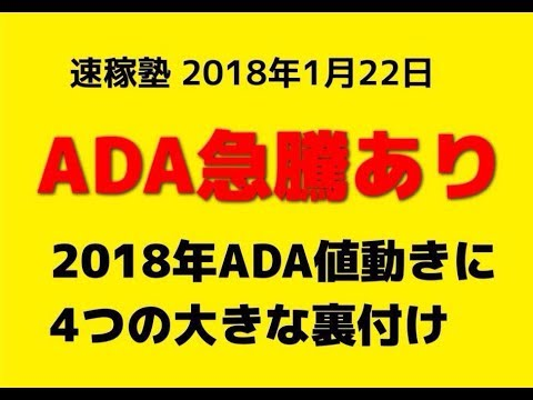 【隠居TV】2018年ADAコインで爆益を上げる方法(羽ばたけ暗号通貨!カルダノADAエイダコイン仮想通貨)