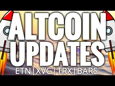 Titanium Got Bars, Verge XVG Hardfork, Tron TRX & Electroneum ETN – Cryptocurrency Altcoins Updates