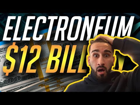 $12 BILLION ETN MARKET CAP?  MARKET CAP PREDICTION! | ELECTRONEUM ETN  CRYPTOCURRENCY