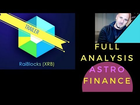 RAIBLOCKS (XRB) CRYPTO ASTRO-FINANCE PREDICTION UNTIL AUGUST 2018 (*TRAILER*)