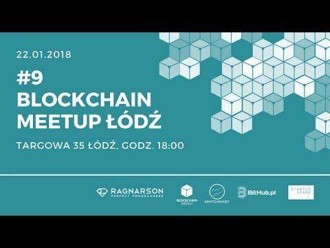 Blockchain Meetup Łódź #9 – O bezpieczeństwie w kryptosieci, Bezpieczny portfel Bitcoin,  EOS – the