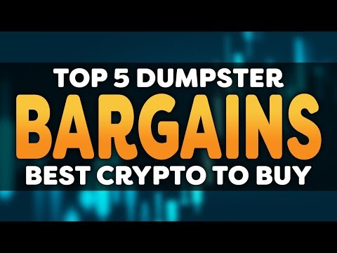 "My Top 5 ""Dumpster Dive"" Cryptocurrency – Hidden Gems Among The Low Cap Trash"