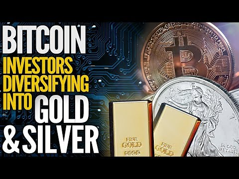 This Amazing Chart Shows Bitcoin Investors Diversifying Into Gold & Silver – Mike Maloney