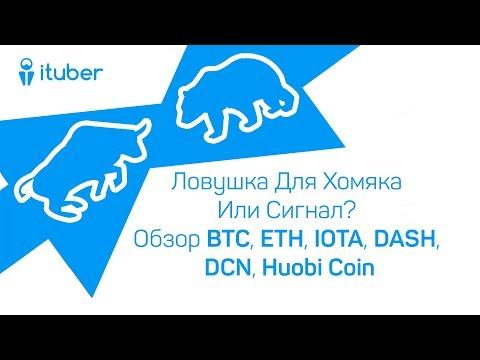 Ловушка Для Хомяка Или Сигнал?Обзор BitCoin BTC,Ethereum ETH,DentaCoin DCN,DASH,IOTA MIOTA,HuobiCoin