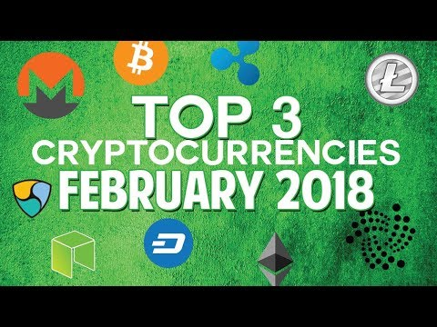 Top 3 cryptocurrencies: February 2018 (Lisk & more)