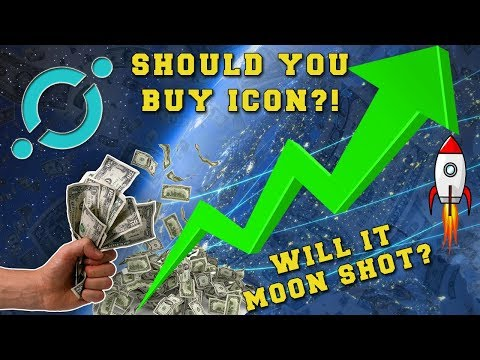 Next BIG Altcoin? – Should You Buy ICON? – ICON Moon Shot – CryptoCurrency News