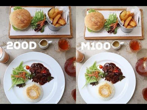 Canon Eos 200D VS Eos M100, Bening Kabeh Bos!!
