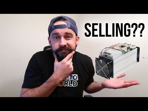 My Bitcoin Mining Update – Selling Antminer S9??