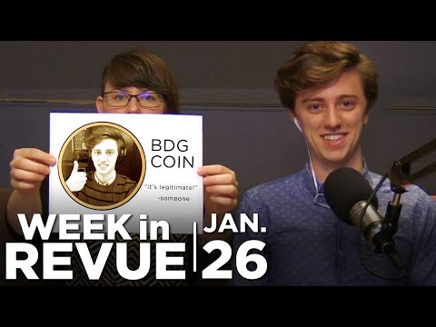 Monster Hunter & Cryptocurrency — WEEK IN REVUE, Jan. 26, 2018
