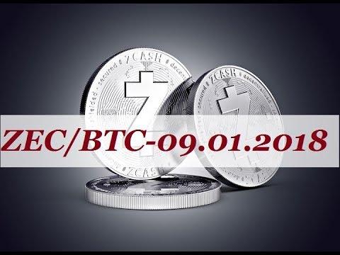 Прогноз ZEC/BTC – 09.01.2018