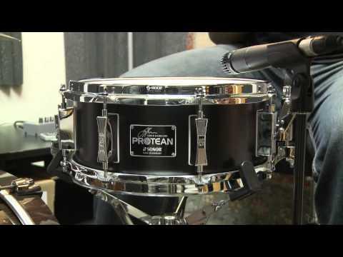 Sonor Gavin Harrison 5×12 Protean Signature Snare Drum Demo