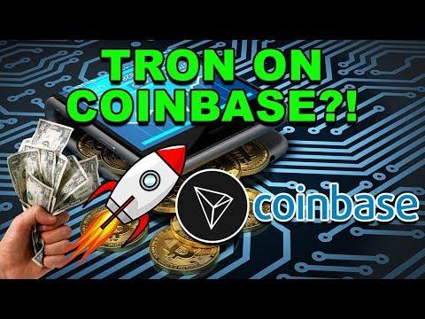 Coinbase Adding Tron? – Will Coinbase Add TRX? – Tron TRX Coinbase CryptoCurrency News
