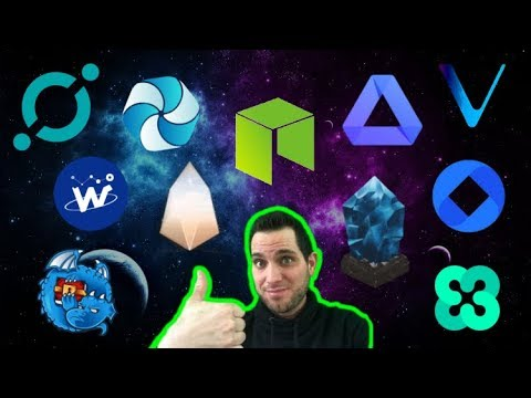 Top 10 Cryptos To HODL In 2018 | NEO ICX ACT HPB VEN WTC EOS DRGN LSK OMG ETHOS