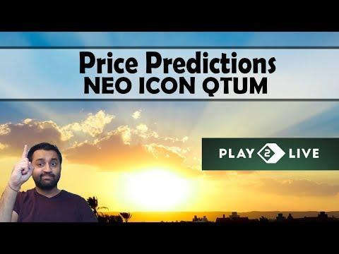 Price Prediction: NEO $NEO – QTUM $QTUM – ICON $ICX – a Cool New ICO