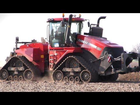 Case STX Quadtrac 620 mit Köckerling Vector Grubber. Bodenbearbeitung 2015 / Video im Test