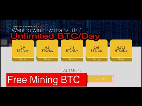 Free Mining Bitcoin 2017/Earn Unlimited BTC per/day/ 0.9 BTC/day