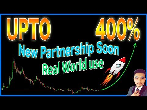 A Cryptocurrency with Real World Use**Sleeping Giant**Going to have a New PartnerShip Soon*UPTO 400%