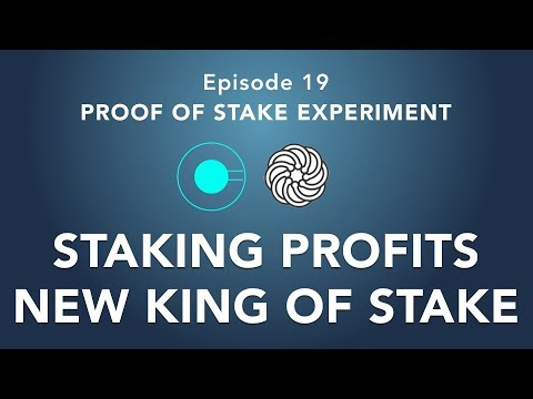 Proof of stake experiment episode 19 – Staking more! New king of stake