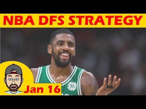 NBA DFS Projections & Strategy | Tuesday 1/16 | FanDuel & DraftKings