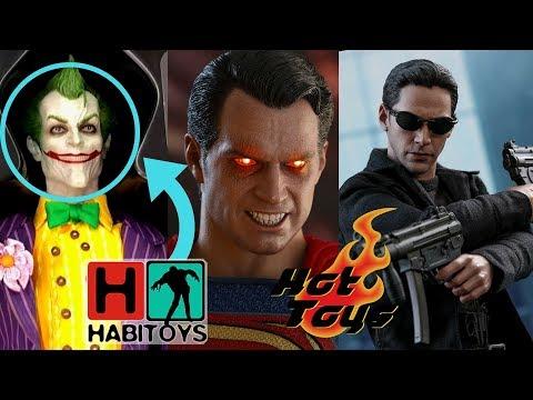 Hot Toys! NOVEDADES Y LANZAMIENTOS Neo, Superman, Joker Arkham y mas! – Habi Toys