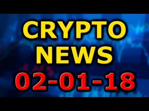 Cryptocurrency Crash, Monaco App Coinbase Killer, Another VeChain Partnership (Crypto News 02/01/18)