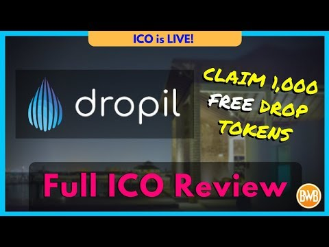 ? Dropil ICO Review – Cryptocurrency Platform – FREE Tokens – Trading Bot Demo (Bitcoin)