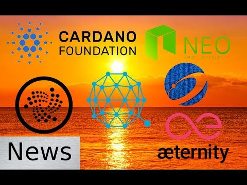 Friday News Roundup – IOTA, Nexus, Qtum, Aeternity, Cardano, & NEO