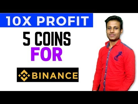 5 Coin For 10x Profit – For Binance
