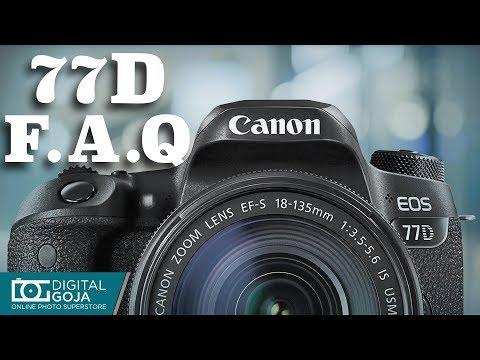 Top 10 Most Common Questions | Canon EOS 77D DSLR Camera | Advanced Tutorial