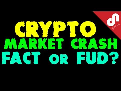 Cryptocurrency Market Crash – FACT or FUD ?