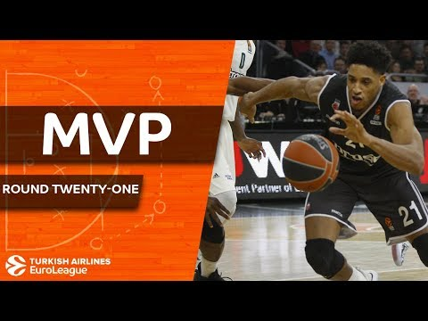 Turkish Airlines EuroLeague Regular Season Round 21 MVP: Augustine Rubit, Brose Bamberg