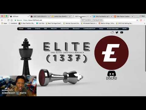 OMG! Is This The next AltCoin to Moon in 2018? Complete ReVIEW of 1337 ELITE COIN Cryptocurrency