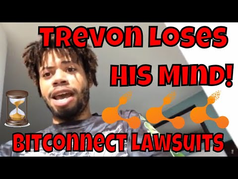Trevon James Loses His Mind – Crypto Nick On The Run! Bitconnect Lawsuit News