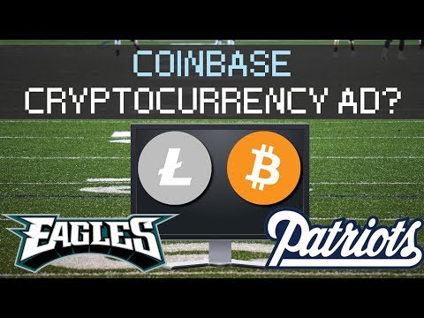 Superbowl Cryptocurrency Commercial? Coinbase?