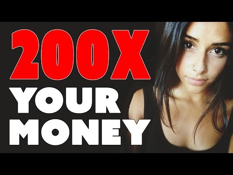 Make Money with Cryptocurrency – 200X Your Money!!!