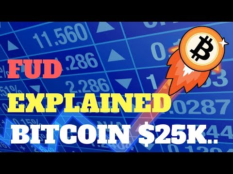 BITCOIN $25K SOON & BITCOIN FUD CRASH EXPLAINED